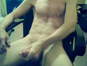 Jacking My Big Uncut Cock