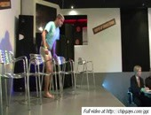Sexy strippers are showing the muscular bodies on podium. More video @ http:www.chipgays.comggc