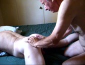 This is my butt getting rimmed.