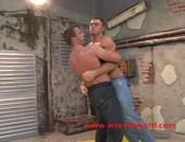 Hard wrestling