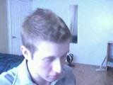 This cutie showcases his goods on his webcam