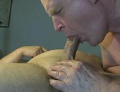 Jerking and sucking until cum shoots everywhere
