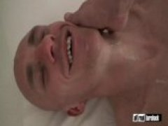 Top fucker Sam Porter using german cum slut Steve raw on both ends