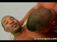 Gangsta homos in a very hot cock sucking action then goes for a wild anal fucking action. See this horny guy drilling his gay lovers ass hole so...