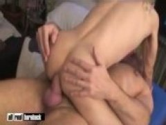 Musclehunk Mauri fucks smooth slim powerbottom Jake T.