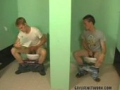 Nevin Scott is having a sneaky jerkoff in a bathroom,   when Braden Fox just happens to stumble upon him and hear   his jerkoff session. Braden...