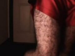 A 3-minute vid showing off my muscular, hairy legs while flashing my uncut hog (flaccid) and nut sack. Just for fun, I included a shot where I use...