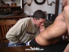 Horny Twinks Sucking and Fucking Hard.