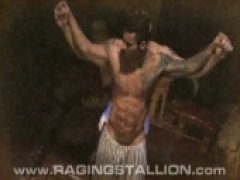 muscle bound beauties smothered in cock and sweat