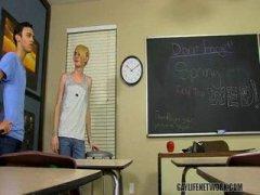 bareback twinks in school
