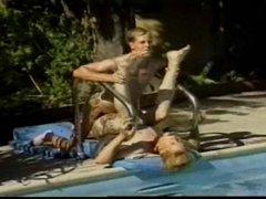 Hot Stud Got Fuck beside the pool.