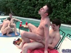 poolside pounding