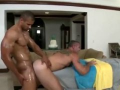 oiled and hard these muscle hunks fuck like champs