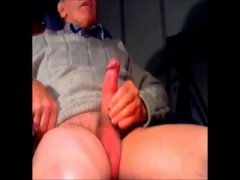 mature man with a huge one