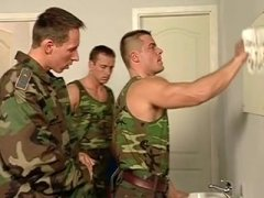 ripped hairy soldiers fuck
