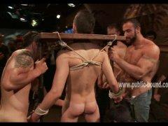 group bondage and abuse