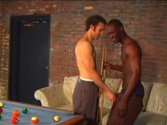 interracial fucking on a pool table