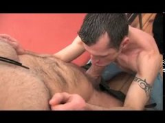 silver fox with an enormous cock nails a fit jock