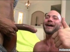 white hunk gets broken by the biggest black cock