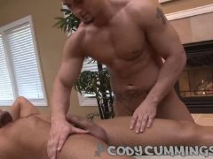 cody cummings gets a happy ending from a sexy masseur