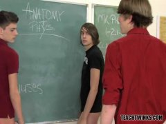twinks in the classroom fuck and stuff a dilso i a students hole