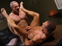 Horny Military Mature Guys Sucking and Fucking Hard.