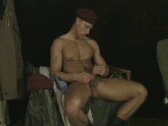Hot Guy Jerking Off His Cock.