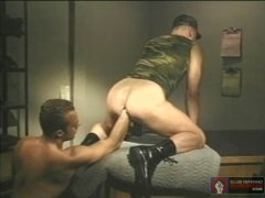 Hot Military Guy Got His Ass Fisted By His FRiend.