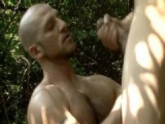 Hot Guys Having a nice anal sex in the forest.