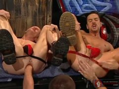 2 Horny Horny Guys Got Fisted By Their Friend.