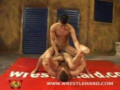 Hot Horny Wrestlers Fucking.