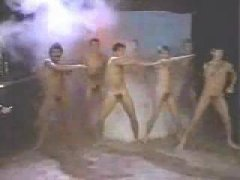 Horny Naked Guys dancing.