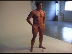 Hot Hunk Naked Pictorial.