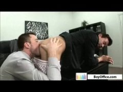 Horny Boys Licking Ass and Sucking ass at the Office.