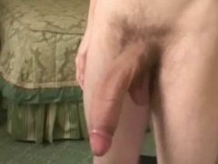 Boy With Huge Dick Masturbating.