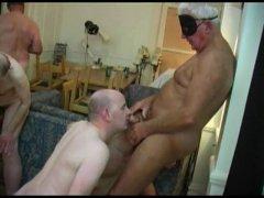 Mature Man Having Some Nice Groupsex.