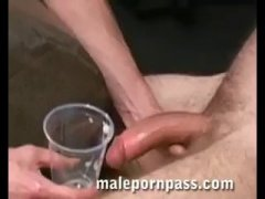 Daryl Dominquez Jerks Off His Thick Dong In The...