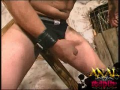 Two Men And Masturbating Their Large