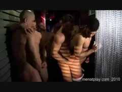 Two Group Bisexual orgy at a private party