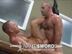 Two Gay  Muscle bound Lovers Suck and Fuck Each Other