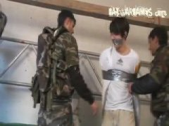 Gay Soldiers Caught In The Act And Get Drilled...