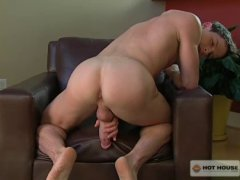 Two Big Cocked Guys Having Gay Sex In Home