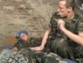 His comrade takes advantage of the situation as he strips, fondles, sucks and finally fucks the poor soldier hard. Take that new guy!
