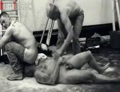Sucking cock is simple right? Not when orally serving construction site bullies Master Nick and Master Lee. They roughly strip and humiliate their man slut and begin fucking away!