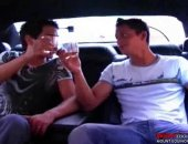 Jason and Dario are both super sexy college jock type studs. On a scenic tour around town in a fancy stretch limo they get a little horny and decide to have a little fun in the back while the driver is oblivious in the front. Jason starts out by giving Dario a world class blow job