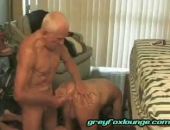 this older gay man doesnt let his age stop his urges! sucking cock and fucking ass, its the kind of life we all want at his age!