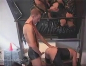 Watch this and other hot scenes in The Darkroom! A place where all men can come, release some stress and get their fuck on!