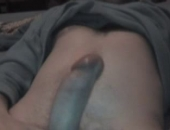 He cums so hard. Watch him stroke his cut curvy cock for me over cam.