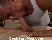 Tyler Saint gives and receives an amazing massage in this treat of a video. Having such a sexy man service you must be a total turn-on.