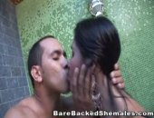 Hot and sexy shemale in hardcore fucking action. Shemale fuck and suck with cumshot